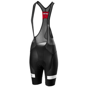Castelli Free Aero Race 4 Bib Shorts Dames, black/white